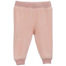 Pantaloni in ciniglia BIO rosa