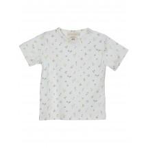 T-shirt in jersey leggero stampa fiori