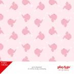 Sacco portagiochi/tappeto gioco Elefante Rosa