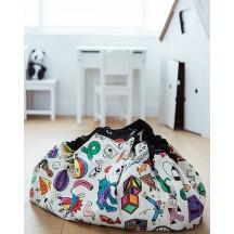 Sacco portagiochi/tappeto gioco Color my Bag